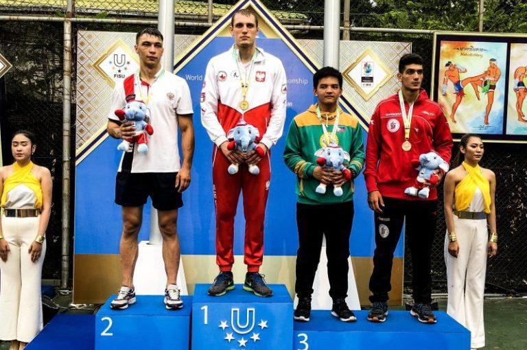 Łukasz Radosz zdobywa Uniwersytecki tytuł Mistrza Świata, Natalia Leciejewska Vice Mistrzem World University Muaythai Championships w Tajlandii